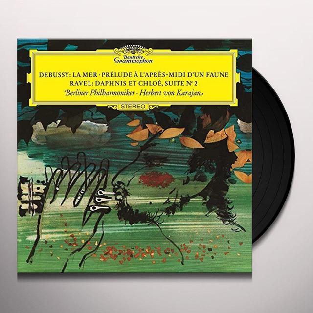 DEBUSSY / KARAJAN / BERLINER PHILHARMONIKER LA MER / PRELUDE A L'APRES-MIDI D'UN FAUNE Vinyl Record - 180 Gram Pressing