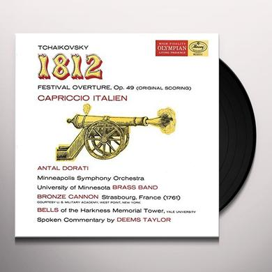 TCHAIKOVSKY / TAYLOR / DORATI / MINNEAPOLIS SYMPHO 1812 OVERTURE CAPRICCIO ITALIEN Vinyl Record