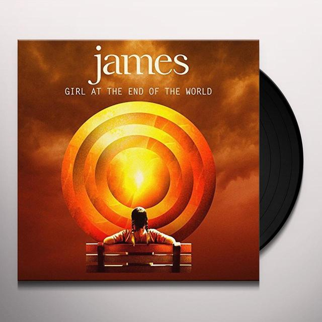 James GIRL AT THE END OF THE WORLD Vinyl Record - Limited Edition