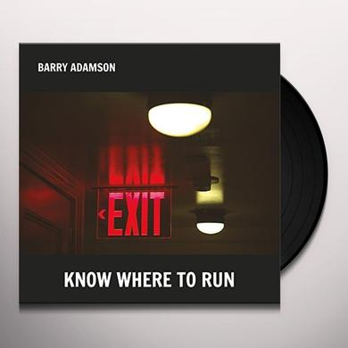 Barry Adamson KNOW WHERE TO RUN Vinyl Record