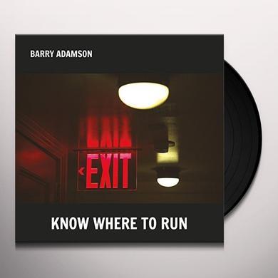 Barry Adamson KNOW WHERE TO RUN Vinyl Record