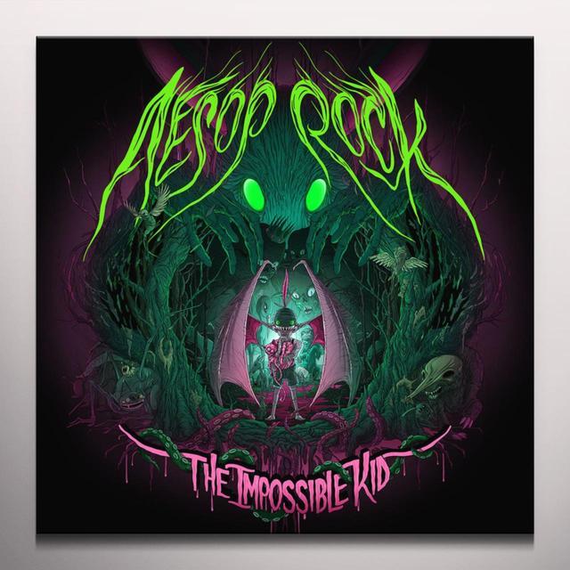 Aesop IMPOSSIBLE KID Vinyl Record - Green Vinyl, Pink Vinyl, Digital Download Included