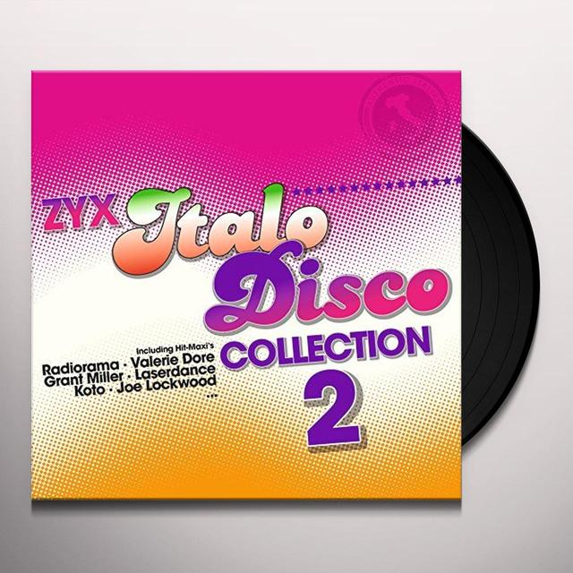 ZYX ITALO DISCO COLLECTION 2 / VARIOUS Vinyl Record