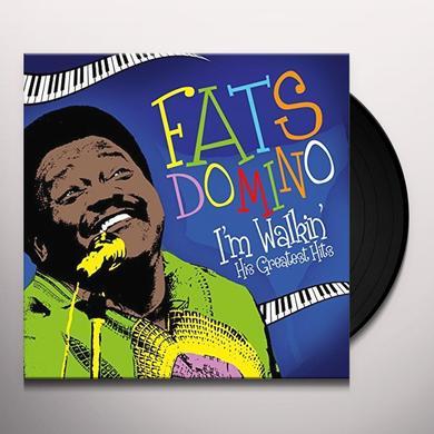 Fats Domino I'M WALKIN' - HIS GREATEST HIT Vinyl Record