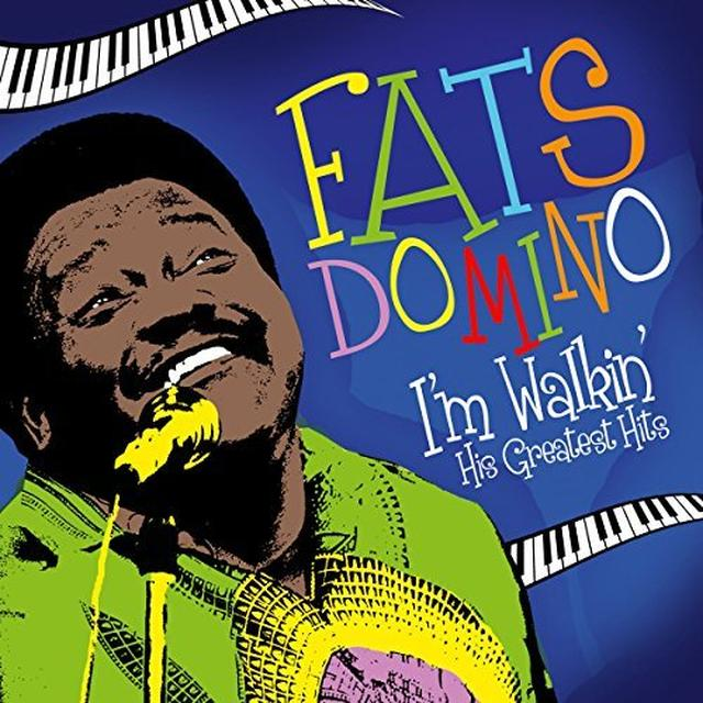 Fats Domino I'M WALKIN' - HIS GREATEST HIT Vinyl Record