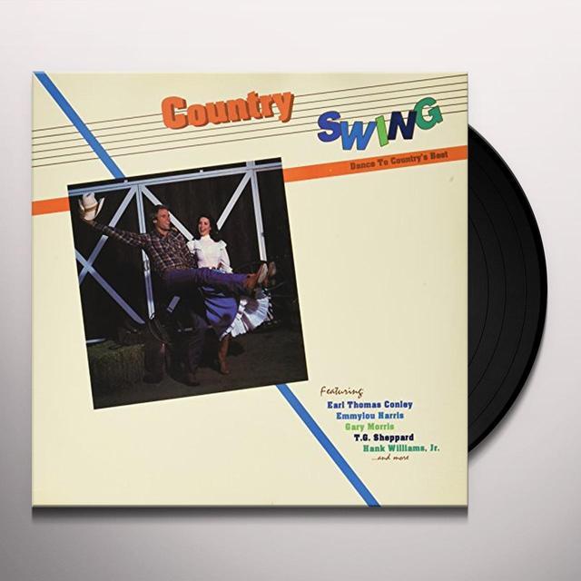 Bonnie Raitt / Jerry Lee Lewis / John Anderson COUNTRY SWING Vinyl Record