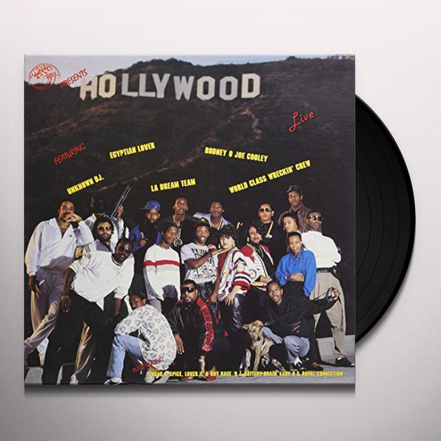 EGYPTIAN LOVER / RODNEY O. HOLLYWOOD LIVE Vinyl Record