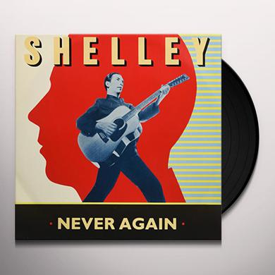 Pete Shelly NEVER AGAIN Vinyl Record