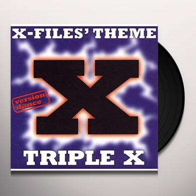 Triple X X-FILES THEME (THE TRUTH) (6 MIXES) Vinyl Record