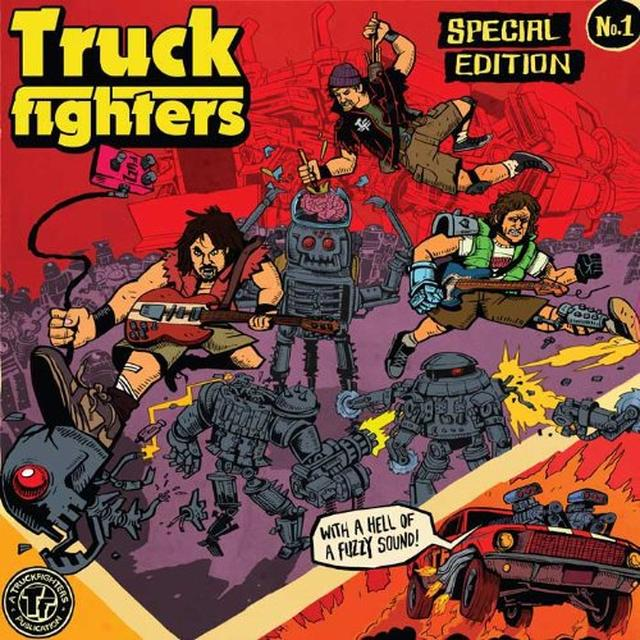 Truckfighters GRAVITY X / PHI Vinyl Record