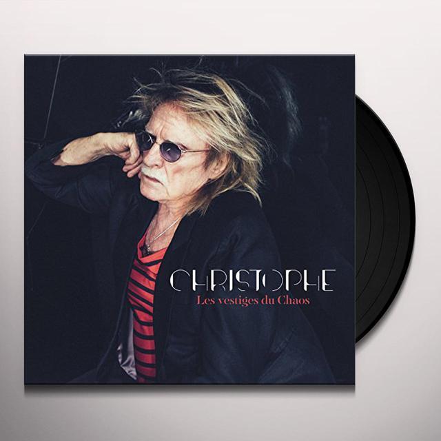 Christophe LES VESTIGES DU CHAOS Vinyl Record