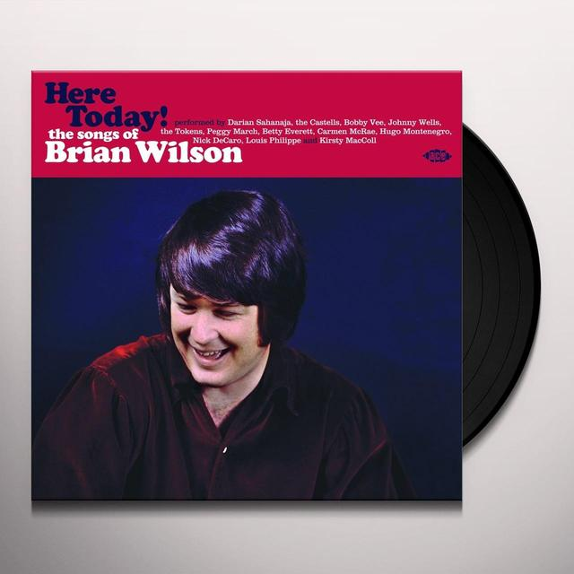 HERE TODAY! SONGS OF BRIAN WILSON / VARIOUS (UK) HERE TODAY! SONGS OF BRIAN WILSON / VARIOUS Vinyl Record - UK Import