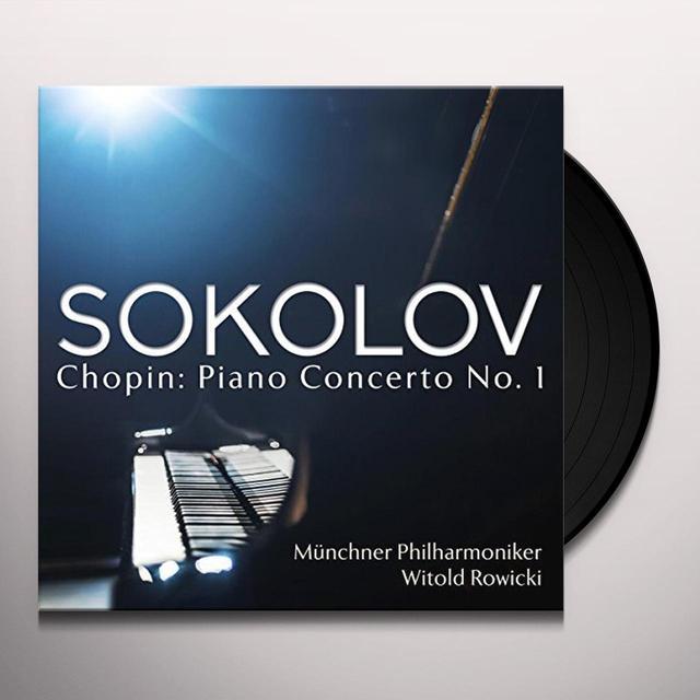 Chopin / Grigory Sokolov CHOPIN: PIANO CONCERTO 1 (GER) Vinyl Record