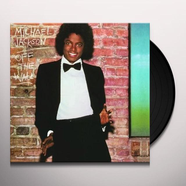 Jackson,Michael OFF THE WALL Vinyl Record - UK Import