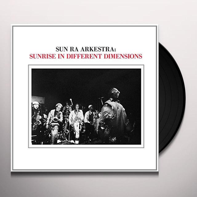 Sun Ra Arkestra SUNRISE IN DIFFERENT DIMENSIONS Vinyl Record - Spain Import