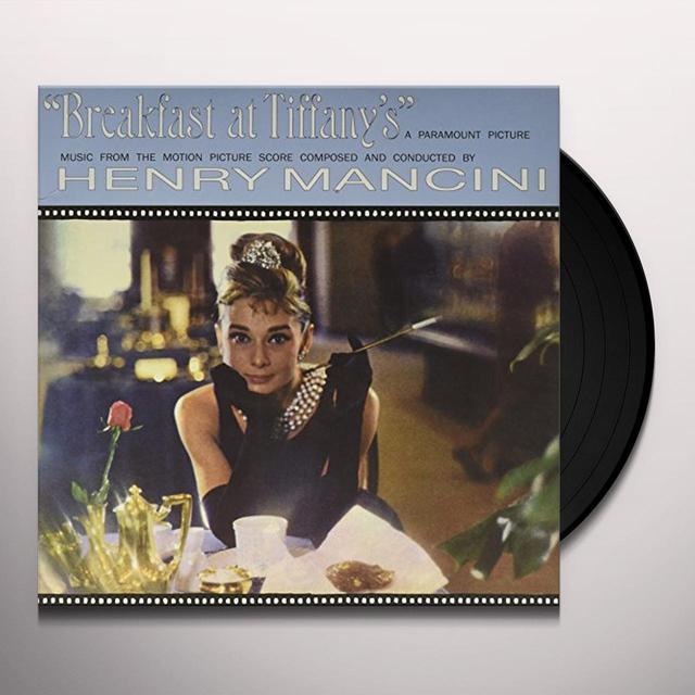 Henry Mancini BREAKFAST AT TIFFANY'S (BLUE VINYL) / O.S.T. Vinyl Record - UK Import