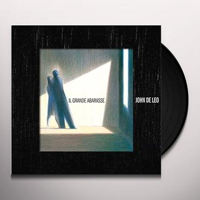 John De Leo IL GRANDE ABARASSE (AUTOGRAPHED HAND NUMBERED) Vinyl Record