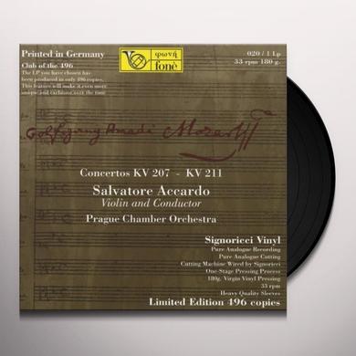 MOZART / ACCARDO CONCERTOS KV 207 - KV 211 Vinyl Record