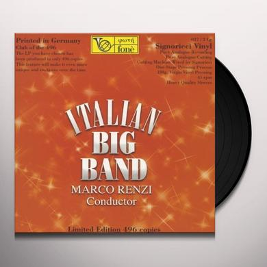 Marco Renzi ITALIAN BIG BAND Vinyl Record - 180 Gram Pressing, Italy Import
