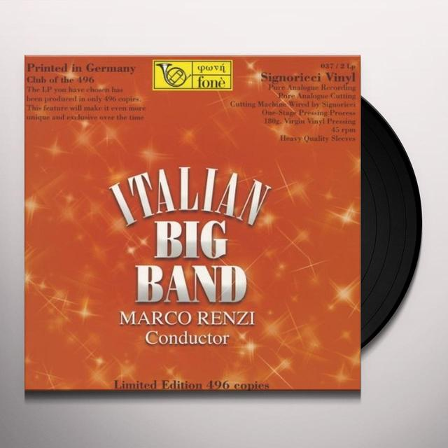 Marco Renzi ITALIAN BIG BAND Vinyl Record - 180 Gram Pressing, Italy Import
