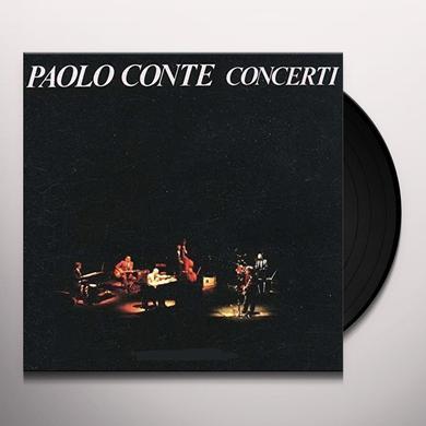 Paolo Conte CONCERTI Vinyl Record - 180 Gram Pressing, Italy Import