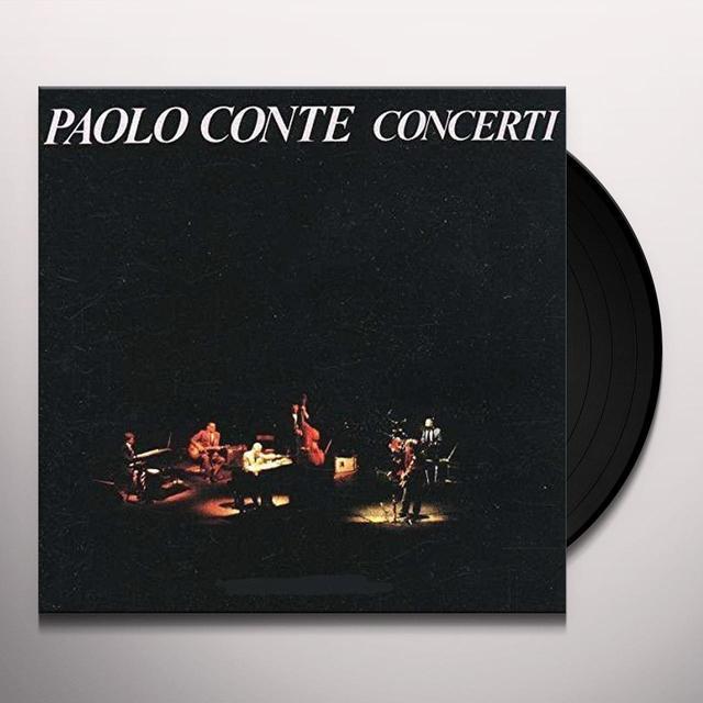 Paolo Conte CONCERTI Vinyl Record