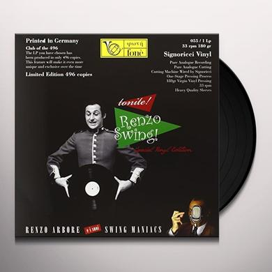Renzo Arbore / I Suoi Swing Maniacs TONITE! RENZO Vinyl Record - 180 Gram Pressing, Italy Import
