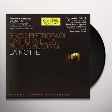 PIETROPAOLI / LENA / SIGURTA LA NOTTE Vinyl Record - 180 Gram Pressing, Italy Import