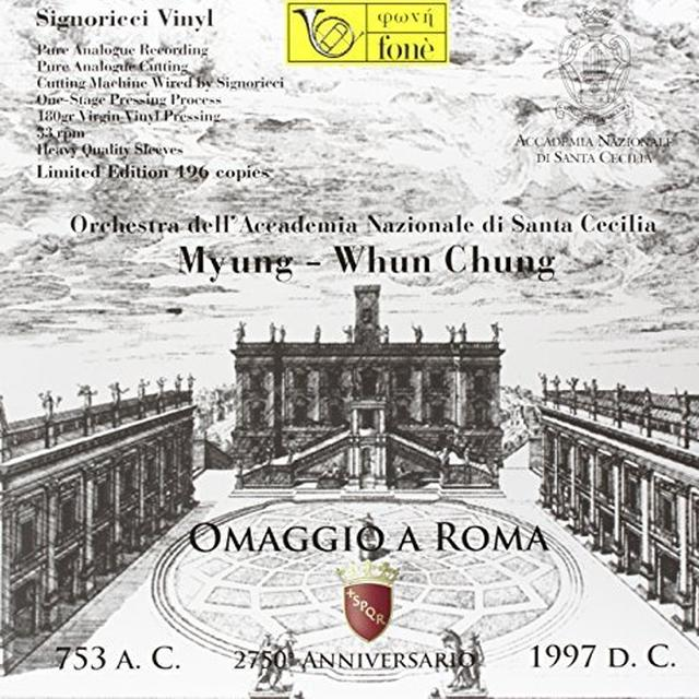Myung-Whun Chung OMAGGIO A ROMA VOL 3 Vinyl Record