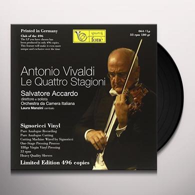 Vivaldi / Salvatore Accardo ANTONIO VIVALDI Vinyl Record - 180 Gram Pressing, Italy Import