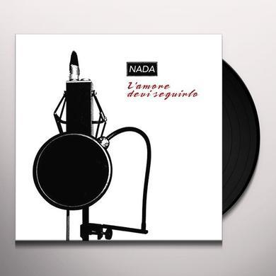 Nada L'AMORE DEVI SEGUIRLO Vinyl Record - Italy Import