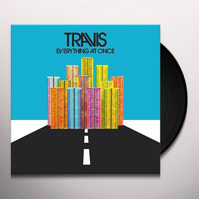 Travis EVERYTHING AT ONCE Vinyl Record - UK Import