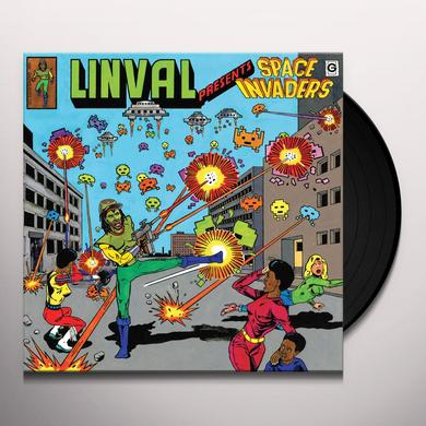Linval Thompson LINVAL PRESENTS: SPACE INVADERS Vinyl Record - UK Release