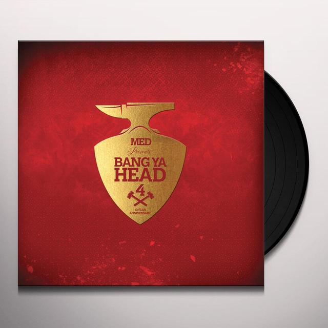 MED PRESENTS: BANG YA HEAD 4 / VARIOUS Vinyl Record