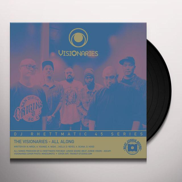 Visionaries ALL ALONG / CROWN ROYALE - STRATASPHERE Vinyl Record