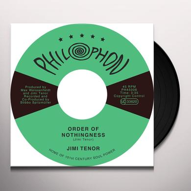 Jimi Tenor ORDER OF NOTHINGNESS / TROPICAL EEL Vinyl Record