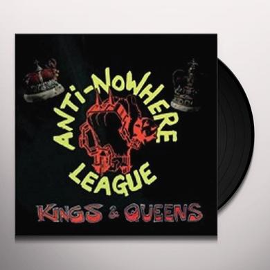 Anti-Nowhere League KINGS & QUEENS Vinyl Record