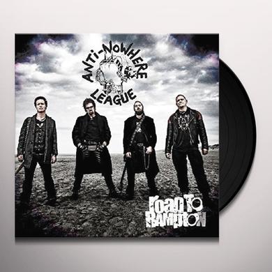 Anti-Nowhere League ROAD TO RAMPTON Vinyl Record