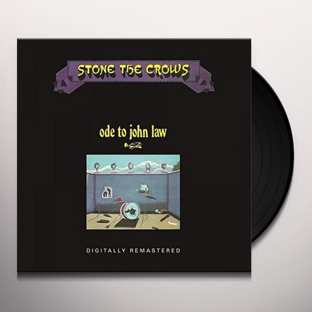 Stone The Crows ODE TO JOHN LAW Vinyl Record