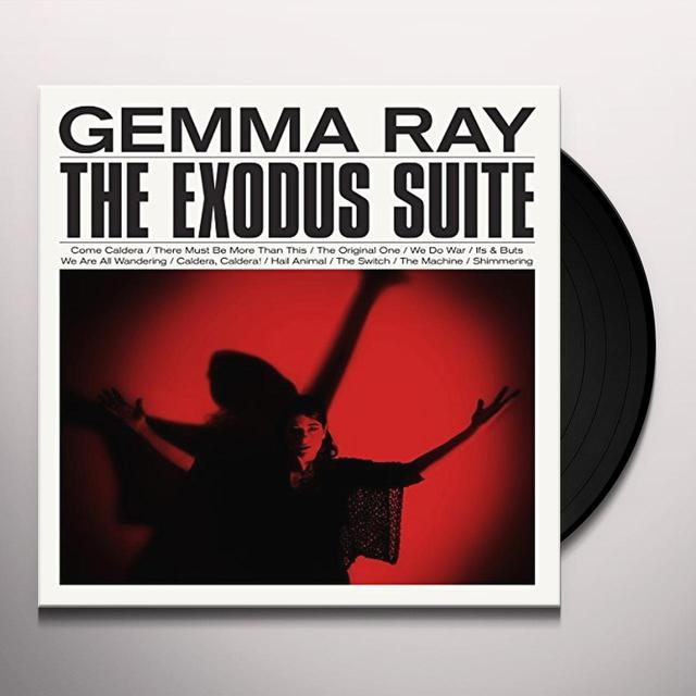 Gemma Ray EXODUS SUITE Vinyl Record - UK Release