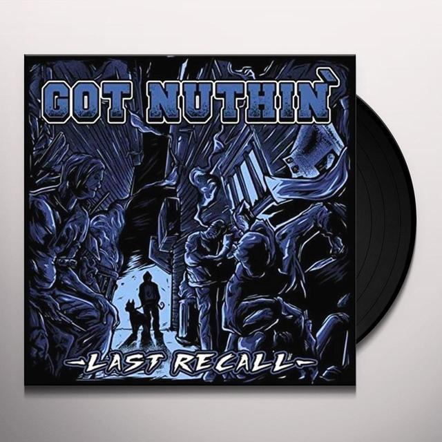 GOT NUTHIN LAST RECALL Vinyl Record - UK Import