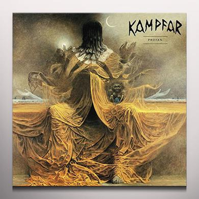 Kampfar PROFAN (YELLOW VINYL) Vinyl Record - Colored Vinyl, Yellow Vinyl, UK Import