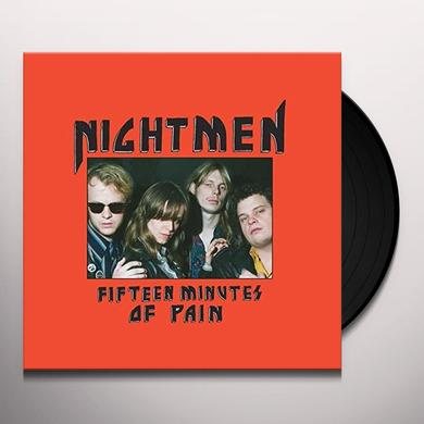 NIGHTMEN FIFTEEN MINUTES OF PAIN Vinyl Record - UK Release