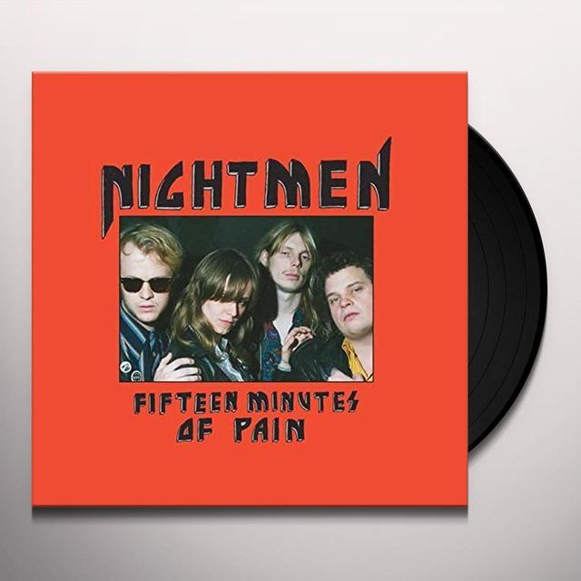NIGHTMEN FIFTEEN MINUTES OF PAIN Vinyl Record - UK Import
