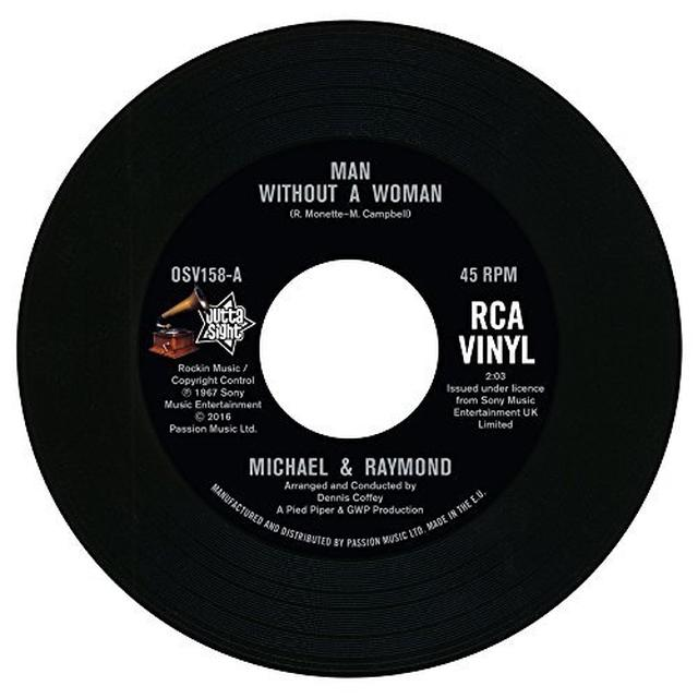 MICHAEL & RAYMOND / DEREK & RAY MAN WITHOUT A WOMAN / INTERPLAY Vinyl Record