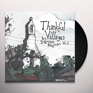 Darren Hayman THANKFUL VILLAGERS VOL 1 Vinyl Record - UK Import