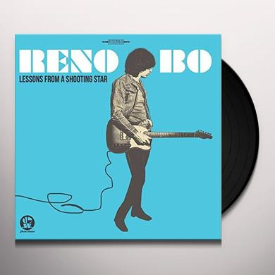 Reno Bo LESSONS FROM A SHOOTING STAR Vinyl Record - UK Import