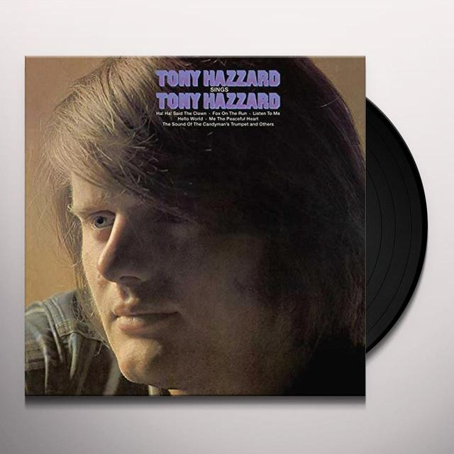 TONY HAZZARD SINGS TONY HAZZARD Vinyl Record - 180 Gram Pressing, UK Import