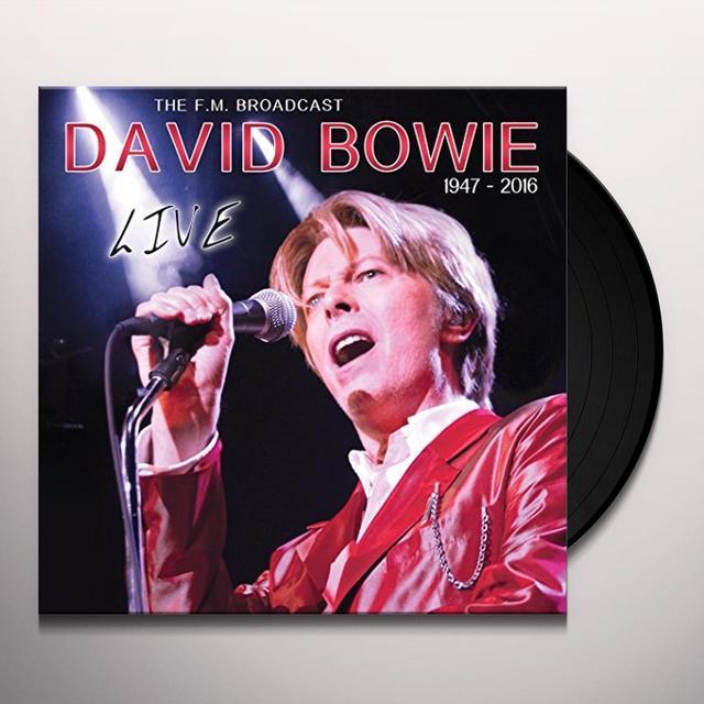 David Bowie LIVE RADIO BORADCAST AUSTRALIA 1987 Vinyl Record