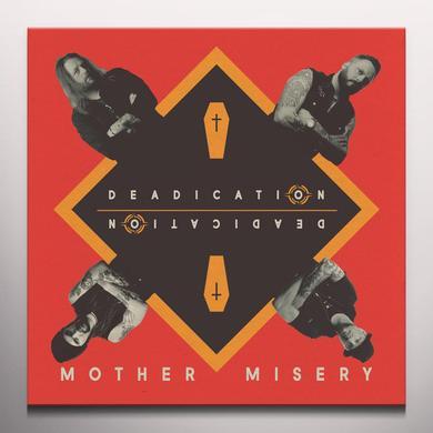 Mother Misery DEADICATION Vinyl Record - Orange Vinyl
